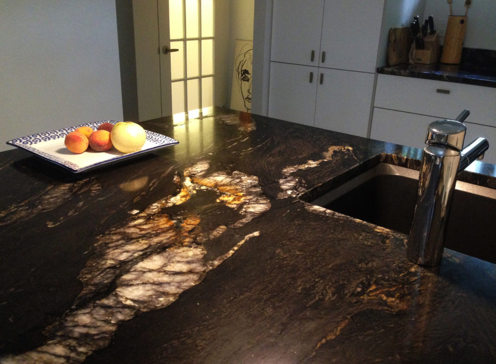 Titanium Black Granite 338 Granit Plus