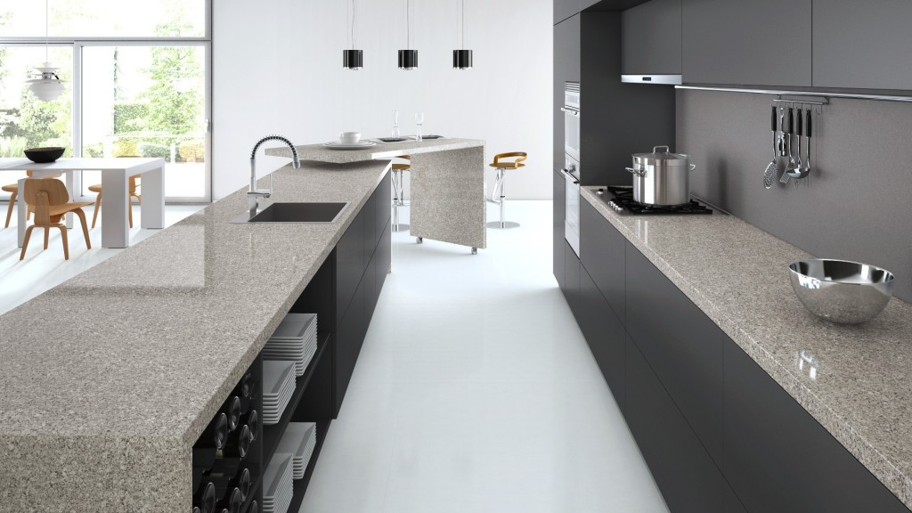 Atlantic Salt Caesarstone Quartz C6270 Granit Plus