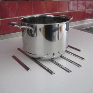 bandes de protection inox