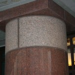 Column in Beluro granite