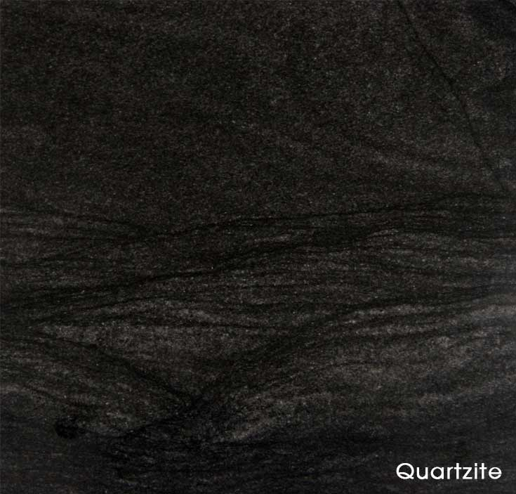 Double Black quartzite