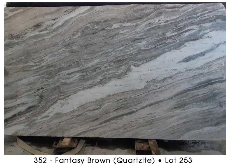 352 - Fantasy Brown Quartzite
